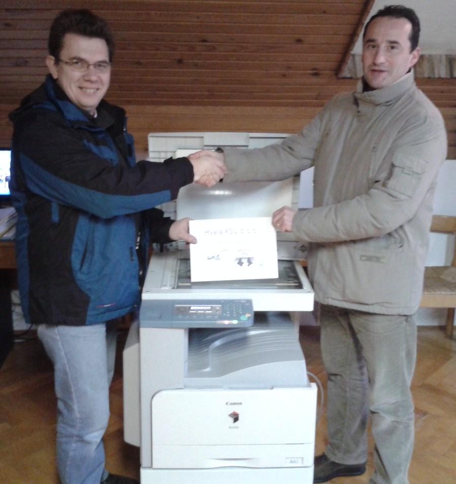 Donacija fotokpirnog uređaja KSU d.o.o.