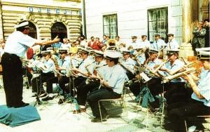 Krajem 20. st., smotra orkestara u Zagrebu