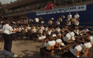 Smotra puhačkih orkestara 27. 9. 1980.